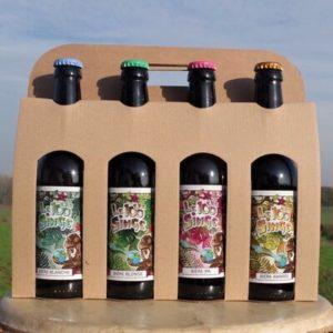 Pack découverte – 4 bouteilles 33cl